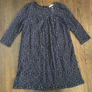 W's short Navy Lace dress
